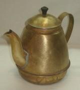 Чайник, кофейник старинный, латунь, «Красный Выборжец» 1953 год №2731