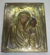 Икона «Казанская Богоматерь», без реставрации, 19 век №2738