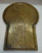 Поднос старинный «замочная скважина», томпак, «Анциферовъ» 19 век №2572