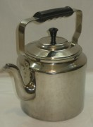 Чайник старинный, 3,5 литра, никелировка, СССР №2808