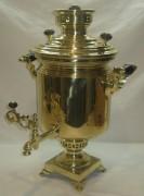 Самовар угольный «банка» на 5,5 л, «ТулПромТорг» 1920-е годы №776