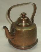 Чайник из меди на 1 литр, Европа 20 век №2851