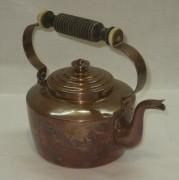 Чайник медный, в патине, Европа 20 век №2858