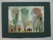 Картина, акварель, «Л.Г. Нисенбаум» СССР №1656