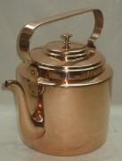 Чайник старинный медный, на 6,5 л, «Товарищество Кольчугина» 19 век №2940