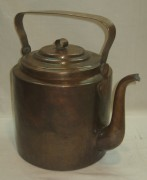 Чайник медный старинный, на 7 литров, 19-20 век №2941