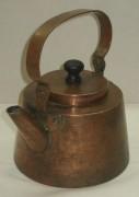 Чайник,старинный медный, толстостенный, 19-20 век №2947