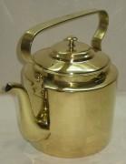 Чайник старинный из латуни «В.С.Н.Х.» и «Т.К.» 1920-е годы №2950