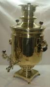 Самовар угольный «банка», на 10 литров, большой, 19-20 век №812