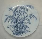 Тарелка старинная, фарфор, модерн, Европа 19-20 век №2962