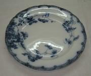 Блюдо старинное, тарелка, фарфор, Англия 19-20 век №2963