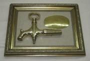 Картина, панно «Кран бочковой», с табличкой №2982