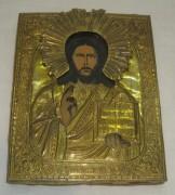 Икона старинная «Господь Вседержитель» №3005