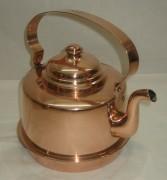 Чайник из меди на 1,5 литра, Европа 20 век №3011