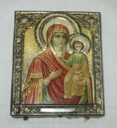 Икона старинная «Иверская богородица» №3014
