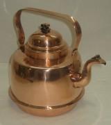Чайник из меди на 2 литра, Швеция 20 век №3028