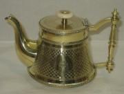 Чайник заварочный старинный, цезалировка, «Schiffers» Варшава 19 век №3037