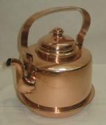 Чайник из меди на 2 литра, Европа 20 век №3041