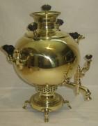 Самовар угольный «шар», на 4 л, «Н.А. Воронцов» 19 век №840
