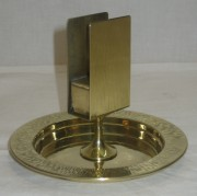 Спичечница старинная, латунь, «WMF» 19-20 век №3069