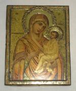 Икона старинная «Тихвинская Богородица» 1897 год №3085