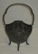 Конфетница старинная, серебрение, без стекла №3136