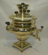 Самовар угольный «ваза», грань пламенем, на 5,5 литров, «Горнина» №859