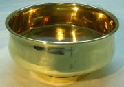 Полоскательная чаша, капельник из латуни завод «ШТАМП» №883
