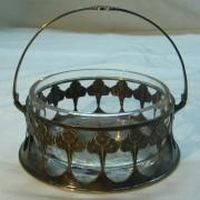Конфетница, сахарница, вазочка Art.Krupp Австрия 19 век №882