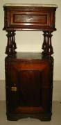 Стол, тумба старинная с ящиком 19 век №628