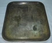 Поднос прямоугольный, серебрение, Fraget Варшава №680