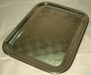 Поднос прямоугольной формы, в никеле №665