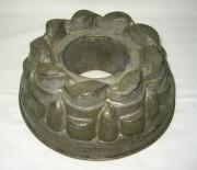 Форма для кекса, выпечки, желе, старинная из меди №656