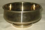 Полоскательная чаша, капельник, в никеле «Тула» 1953 год №552