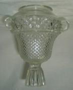 Лампада, лампадка стеклянная, конец 19 начало 20 века №546