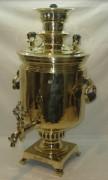 Самовар угольный «банка», с медалями, большой, на 12 литров, «В.С. Баташев» №865