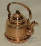 Чайник медный на 1 литр, Европа 20 век №3174