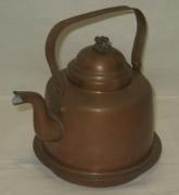 Чайник медный в патине на 1,5 литра, Швеция 20 век №3176
