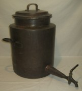 Водогрей старинный, куба огромная, самовар на 24 литра, 19-20 век №3197