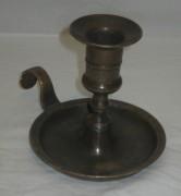 Подсвечник старинный, ночник, томпак, Россия 19-20 век №3262