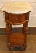 Стол старинный под самовар, мрамор, Россия 19 век №3272