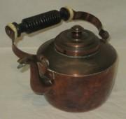 Чайник старинный из меди, Европа 20 век №3295