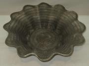 Ваза для фруктов старинная, серебрение, 20 век №3313