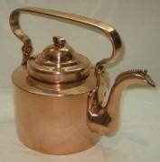 Чайник старинный медный на 4 литра, Россия 19 век №3333