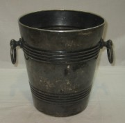 Ведро под шампанское, серебрение, «Кольчугино» №3396
