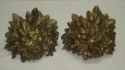 Накладки на мебель, пара, бронза, 19 век №3405