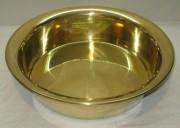 Тазик старинный для варения, латунь, «Кольчугино» №3472