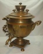 Самовар коллекционный старинный «чаша», томпак, «Полеков» 1850-е года №895