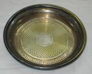 Блюдце старинное, тарелочка, цезалировка «Norblin» Варшава 19 век №3495