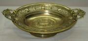 Сухарница старинная, ваза для фруктов, конфетница «Плевкевич» Варшава 19 век №3595